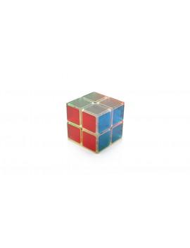 LANLAN High Quality 2x2x2 Brain Teaser Magic Transparent IQ Cube
