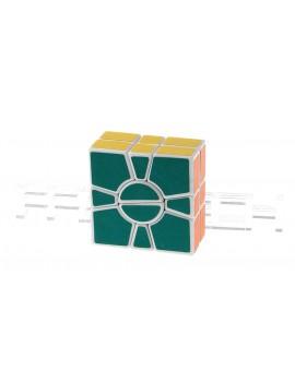 QJ 2-Layer Super Square One Puzzle Speed Cube
