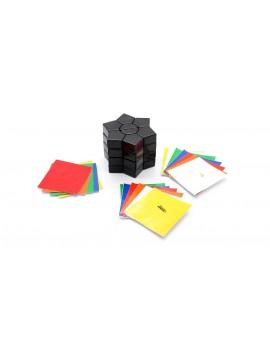 MF8 Super Square Hexahedron Magic Cube Twist Puzzle