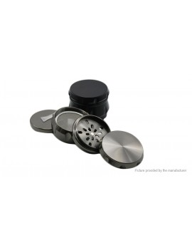 Zinc Alloy 4 Layers Tobacco Herb Grinder Hand Muller