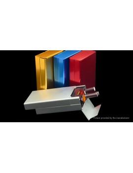 Portable Aluminum Alloy Cigarette Case Box