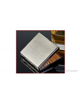 KUBOY Stainless Steel Cigarette Holder Tobacco Storage Case