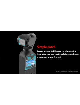 CQT 2.5D Tempered Glass Screen Protector for DJI Osmo Pocket