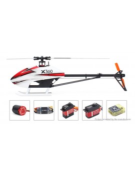 Authentic ALZRC Devil X360 FAST Flybarless Belt Drive R/C Helicopter Kit