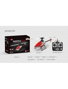 Authentic XK K120 6CH 2.4GHz R/C Helicopter