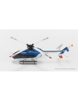 Authentic WLtoys XK K124-B EC145 6CH R/C Helicopter (BNF)