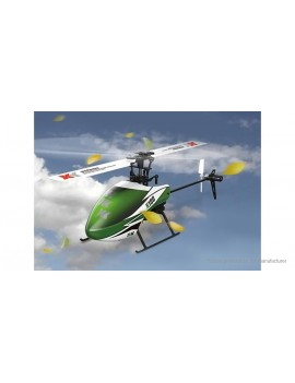 Authentic WLtoys XK K100-B Falcon 6CH R/C Helicopter (BNF)