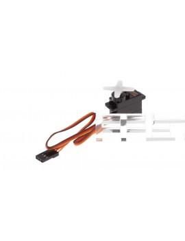 Authentic EMAX ES08MD Mini Metal Gear Digital Servo (4-Pack)